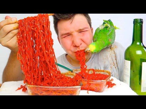 Drunk • Korean Fire Noodle Challenge • MUKBANG