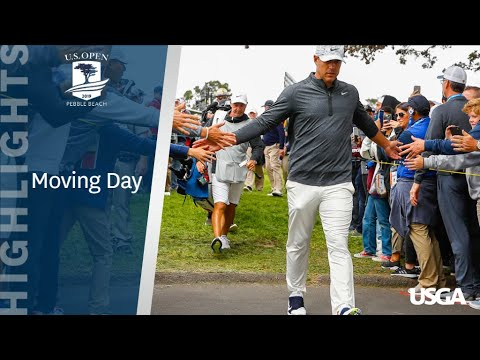 2019 U.S. Open: Moving Day Highlights