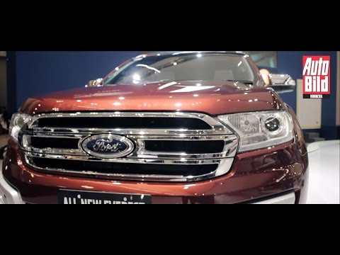Review Awal Ford Everest di Indonesia
