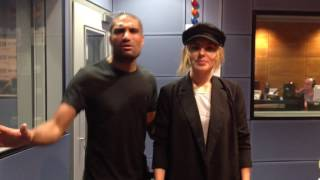 Mollie King with Richie Anderson on BBC WM
