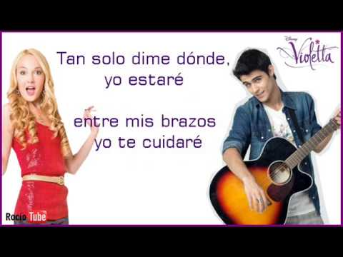 Ahí estaré - Violetta - Tomás y Ludmila - Lyrics