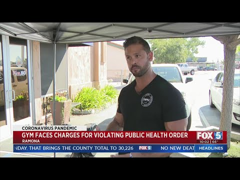 Ramona Gym Owner Facing Charges Of Violating Public Health Orders