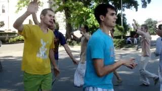 Харинама в Волгограде 9 июня 2012 г.