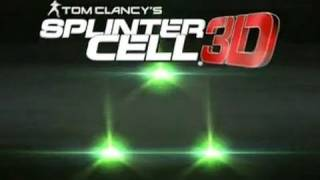 Splinter Cell 3D: Official Launch Trailer