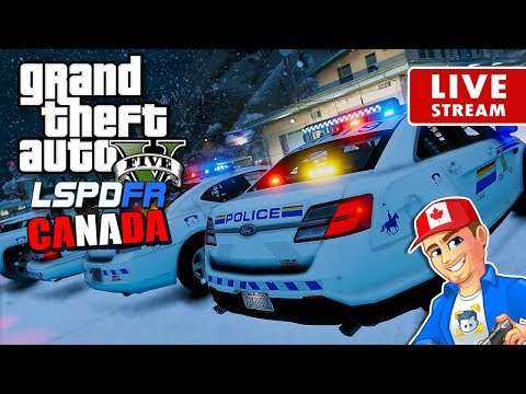 GTA 5 LSPDFR Canada LIVE - Royal Canadian Mounted Police RCMP | GTA 5 LSPDFR Realistic Police Patrol