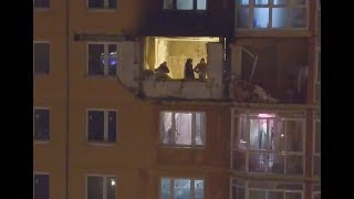 Коптеры «360» сняли пострадавшую от взрыва газа квартиру в ЖК