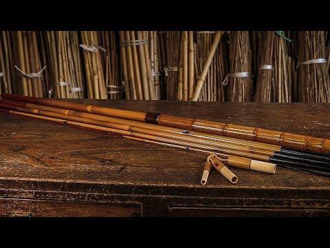 """Японская бамбуковая удочка """"Вазао"""". Изготовление удочки"""