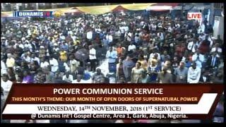POWER COMMUNION SERVICE. 14-11-18