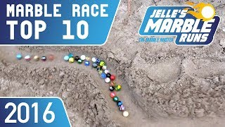 TOP 10 Marble Racing Videos 2016 (With Comet!)