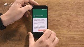 Android 6.0 Marshmallow-Tipp: Speicherkarte als internen Speicher nutzen - GIGA.DE