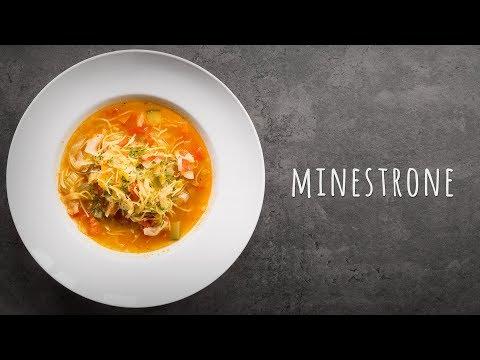 Italienische Minestrone Rezept