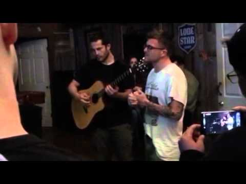 Saosin / Anthony Green live Seven Years VIP acoustic 2016