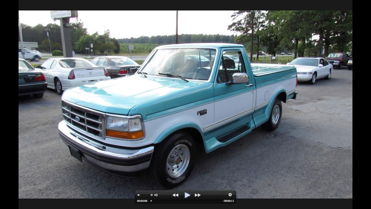 hight resolution of 1994 ford f 150 xlt 5 0 v s 7 3 start up exhaust and in depth review