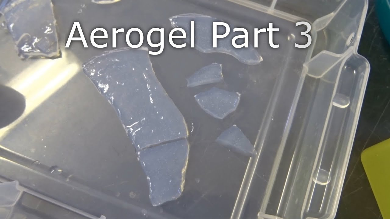 Making Aerogel At Home: Part 3 New Gels