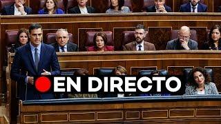 🔴 EN DIRECTO: Discurso de Pedro Sánchez en la Sesión de Control en el Congreso