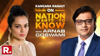 NWTK: Kangana Ranaut Speaks To Arnab Goswami On Sushant Singh's Case & Bollywood Drug Mafia Angle