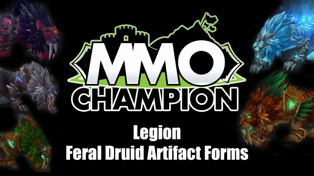 Legion Beta - Feral Druid Artifact Forms - YouTube