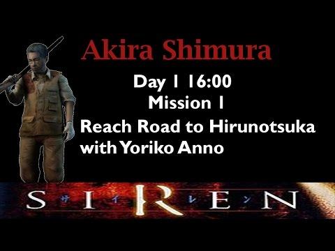 [Forbidden Siren] Akira Shimura: Day 1 16:00 (mission 1)