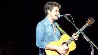 John Mayer - Edge of Desire Acoustic (Phoenix 10/02/13)