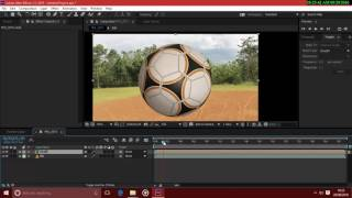 How to make football effect like shaolin soccer in after effects