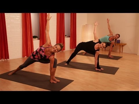 Vinyasa Flow Workout | Yoga Workout | Class FitSugar