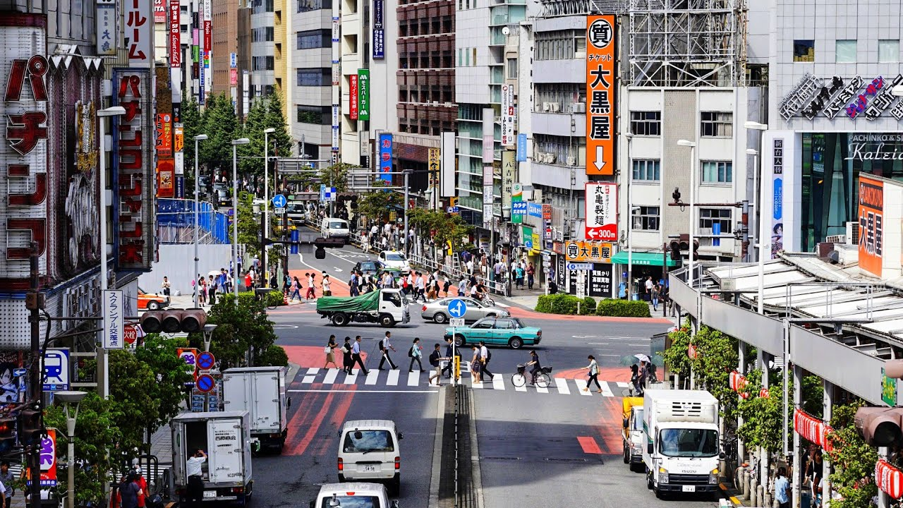 4K Tokyo Guided Tour - Shinjuku West Side & Skyscraper District - 新宿