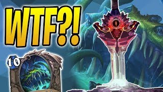 CURSED BLADE Wins Me The GAME?! | Yogg Shudderwock Shaman | The Boomsday Project | Hearthstone