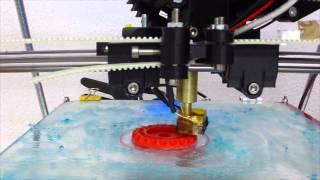 3D Druck im Zeitraffer - mit Erklärung