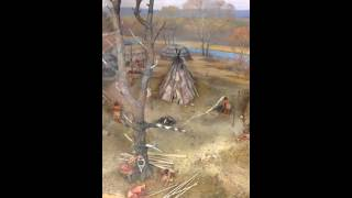 Part 4- Gene Winter on Diorama of Merrimack River Native American Village