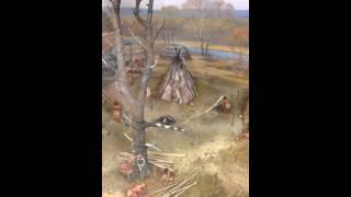 Part 4- Gene Winter on Diorama of Merrimack River Native American Village