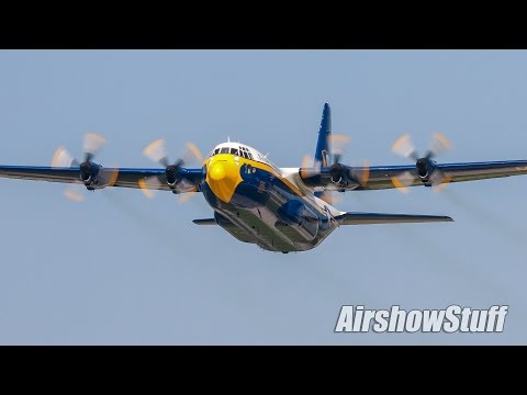 "Blue Angels C-130 ""Fat Albert"" - Lynchburg Regional Airshow 2016"