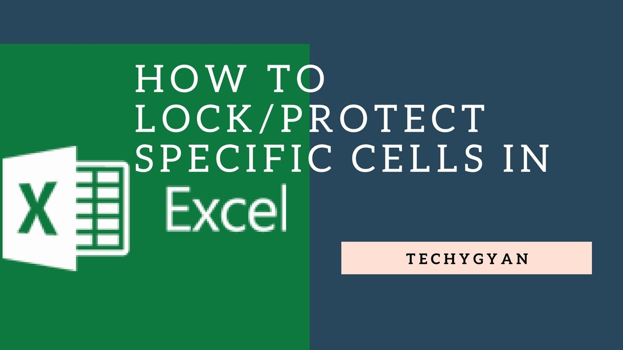 how to lock or protect specific cells in excel youtube. Black Bedroom Furniture Sets. Home Design Ideas