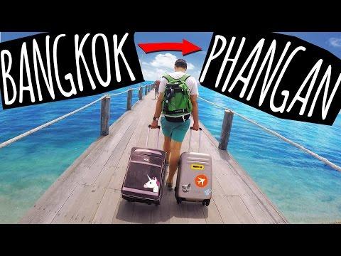 Как добраться до пангана из бангкока