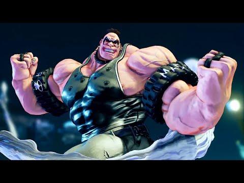 Street Fighter 5 - Abigail Character DLC Reveal Trailer