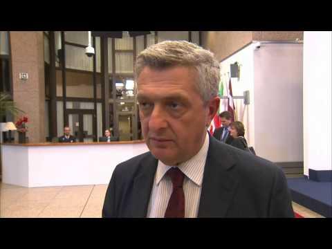 #Migrants: United Nations High Commissioner for Refugees Filippo Grandi