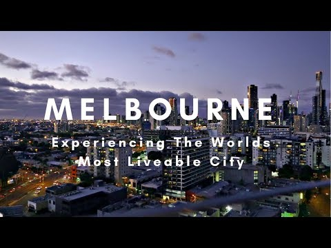 MELBOURNE THE WORLDS MOST LIVEABLE CITY ! | OUR FIRST WEEKS
