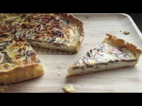 Perfect Mushroom Quiche Recipe With ASMR | Ghee Shakar