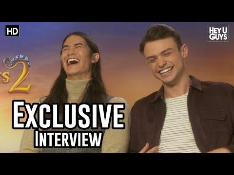 Booboo Stewart & Thomas Doherty - Descendants 2 Exclusive Interview