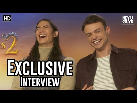 Booboo Stewart & Thomas Doherty - Descendants 2 Exclusive Interview