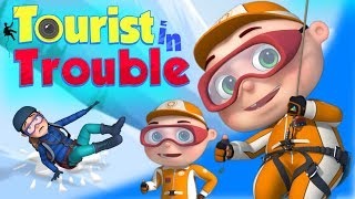 Zool Babies Series   Tourist Rescue  Cartoon Animation For Children  Videogyan Kids Shows