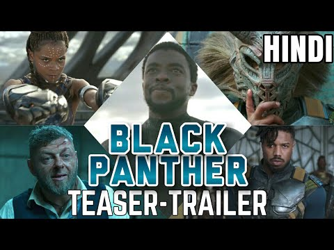 Black Panther Hindi Teaser-Trailer Review | Marvel India