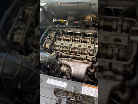 2012 chevy cruze 1.4 turbo timing chain marks part 1 CHEVY ...