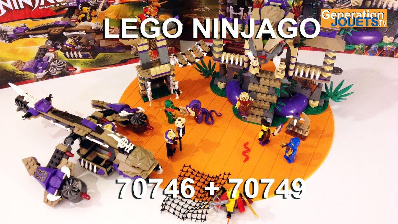 Le Anacondra Condraiprésentation Lego 70749 70746 Et De Ninjago Temple L'hélicoptère wn0kOP