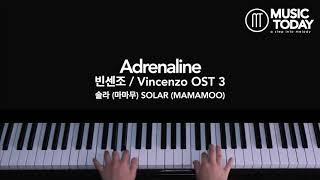 솔라 (마마무) SOLAR (MAMAMOO) –Adrenaline Piano Cover (빈센조 / Vincenzo OST 3)