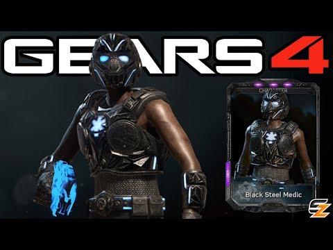 "Gears of War 4 - ""Black Steel Medic"" Character Multiplayer Gameplay!"