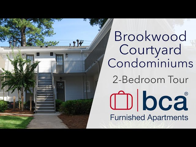 Brookwood Courtyard Condominiums, 2-Bedroom Tour | Atlanta, GA