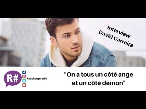 Album, Domino, DALS : Interview David Carreira