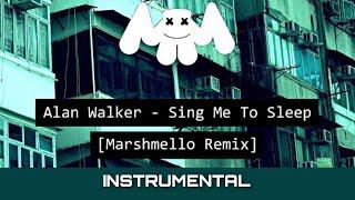 Alan Walker - Sing Me To Sleep (Marshmello Remix) [Instrumental]