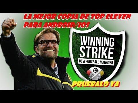 JUEGO mas PARECIDO A TOP ELEVEN 2018