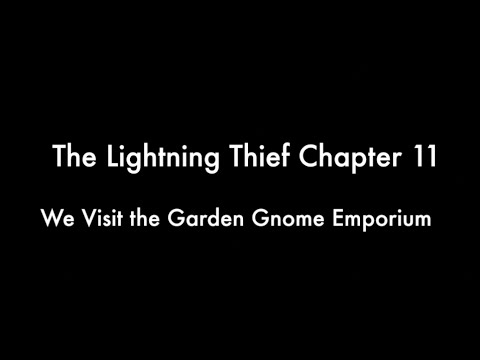 the lightning thief audiobook read aloud chapter 11 youtube